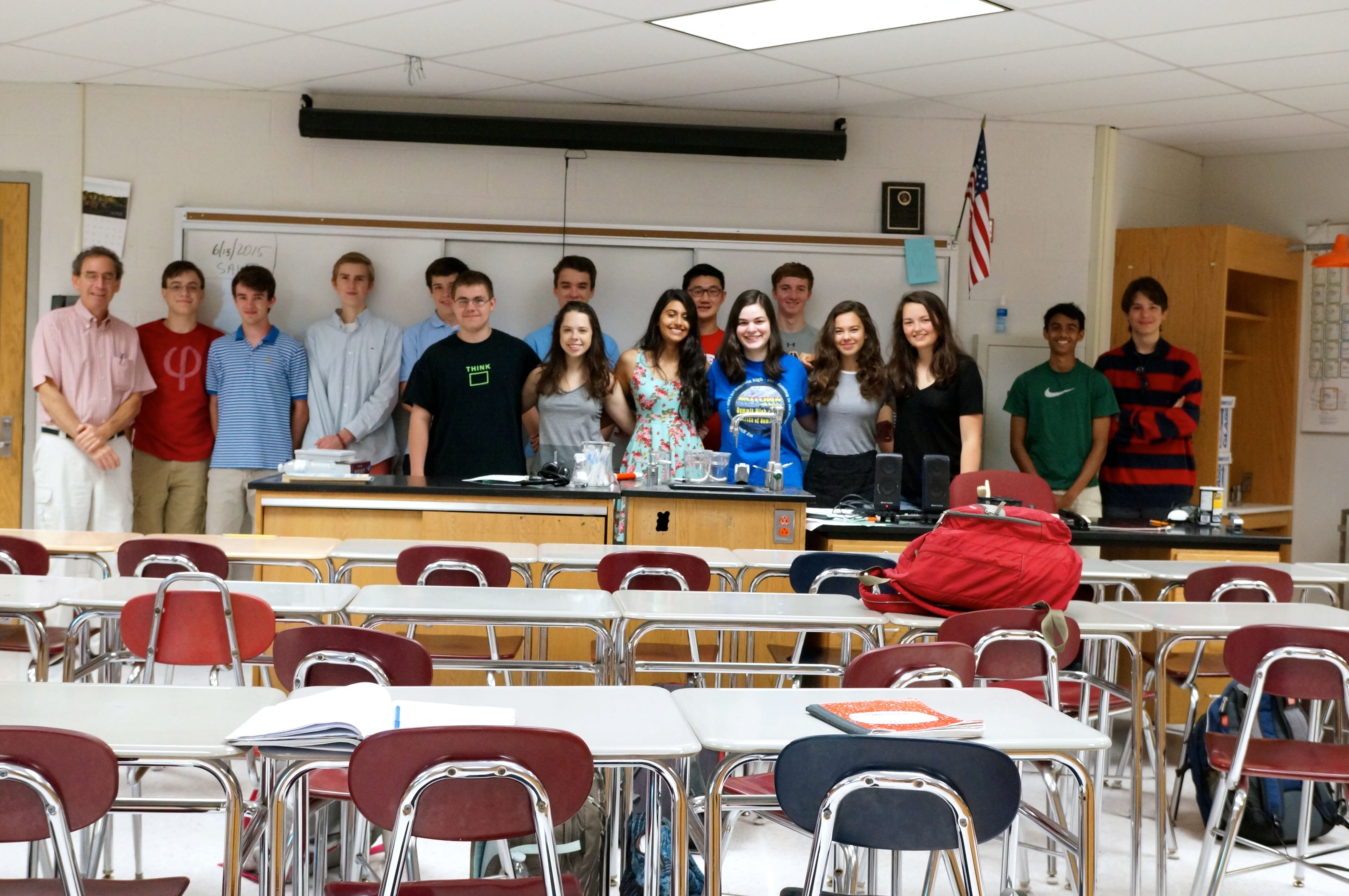 2014-2015 Science Research Class
